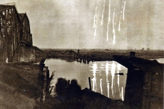 Киришский плацдарм, железнодорожный мост, 1942-43 гг.