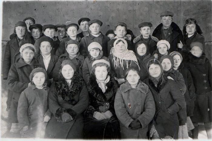 Гладская школа 1941 год от Марии Разиной