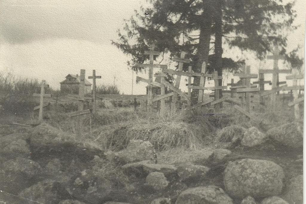 Кладбище в Глади