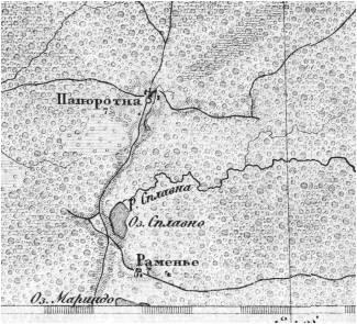 Папоротно карта
