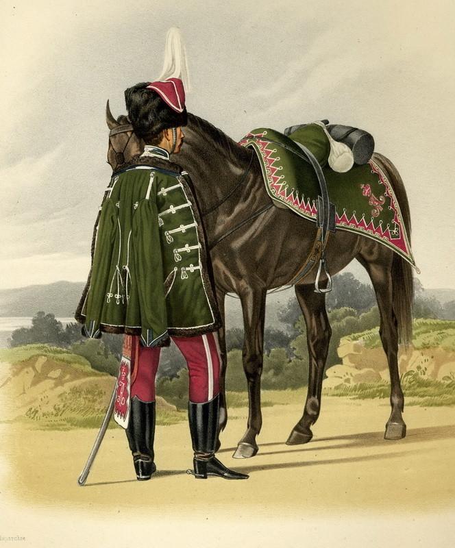 Унтер-офицер л.-гв. Гродненского полка